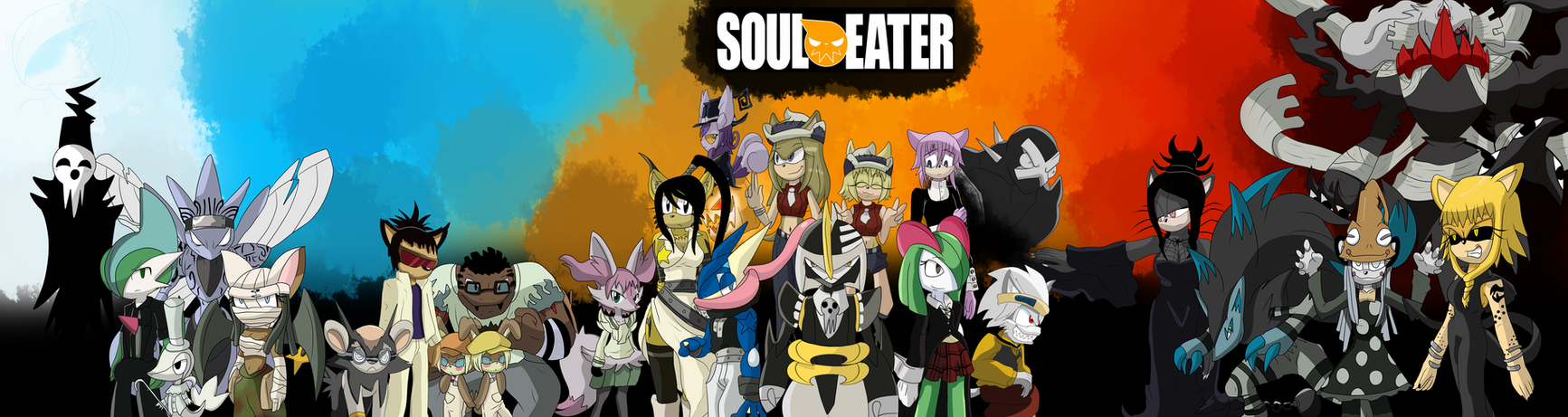 Soul Eater O.C reboot Completed!!! by ColorDrake