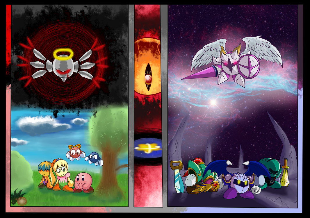 Kirby Fan Art ( Over the Eon's ) by ColorDrake