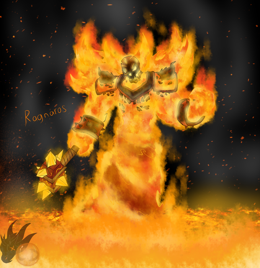 Ragnaros ( The Firelord ) by ColorDrake
