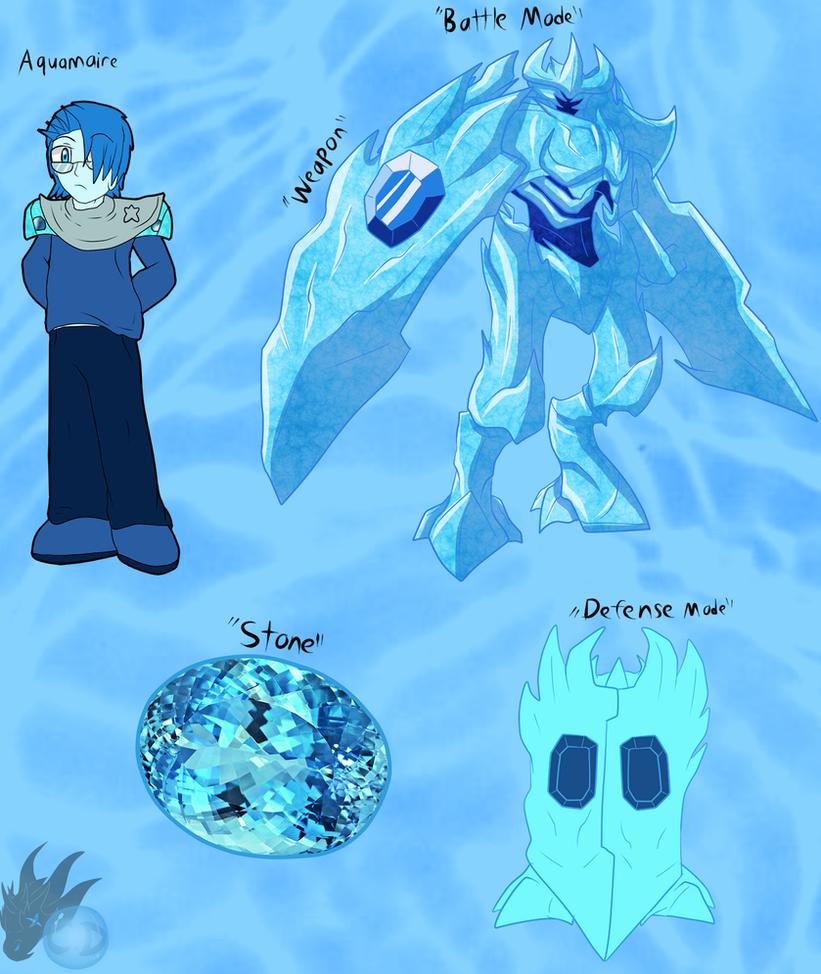 Aquamarine ( Fan Gem Me ) by ColorDrake