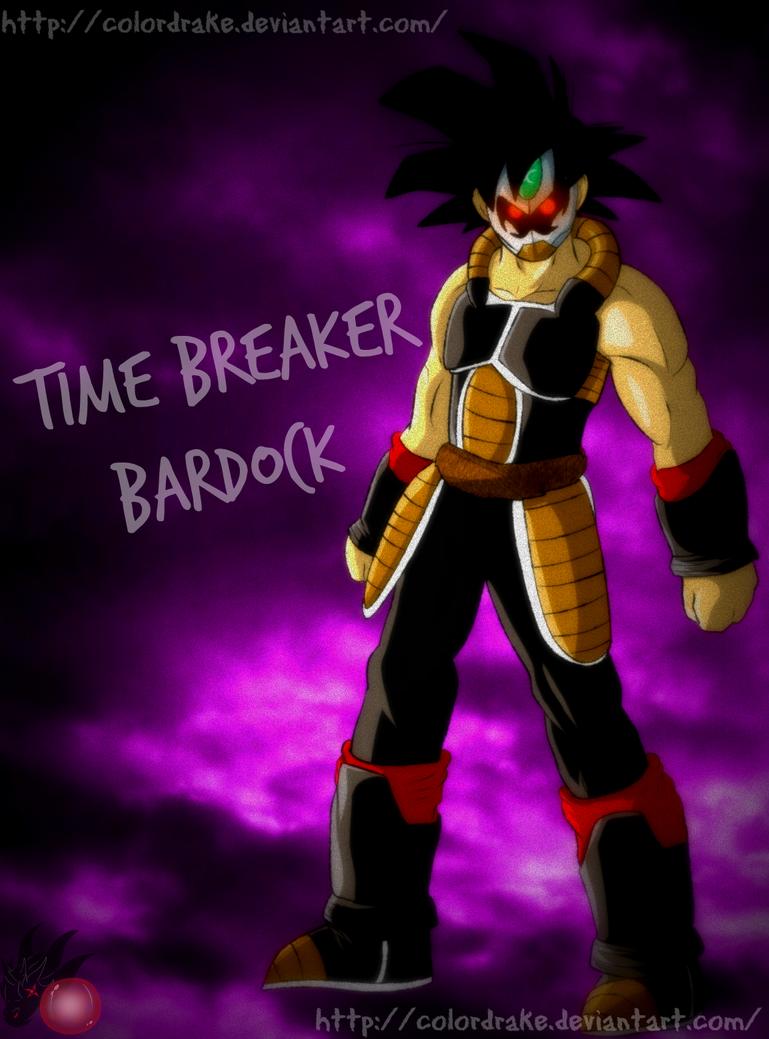 DBH's Time Breaker Bardock by ColorDrake