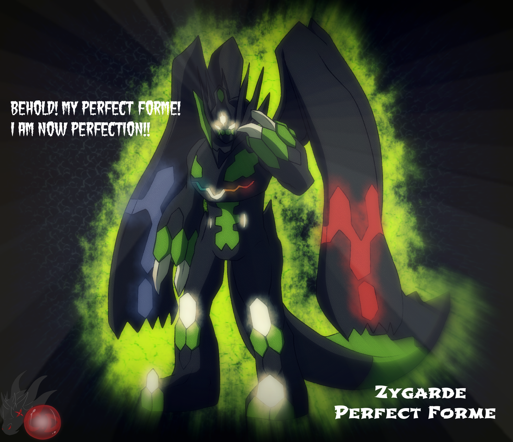 Zygarde Perfect Forme by ColorDrake on DeviantArt