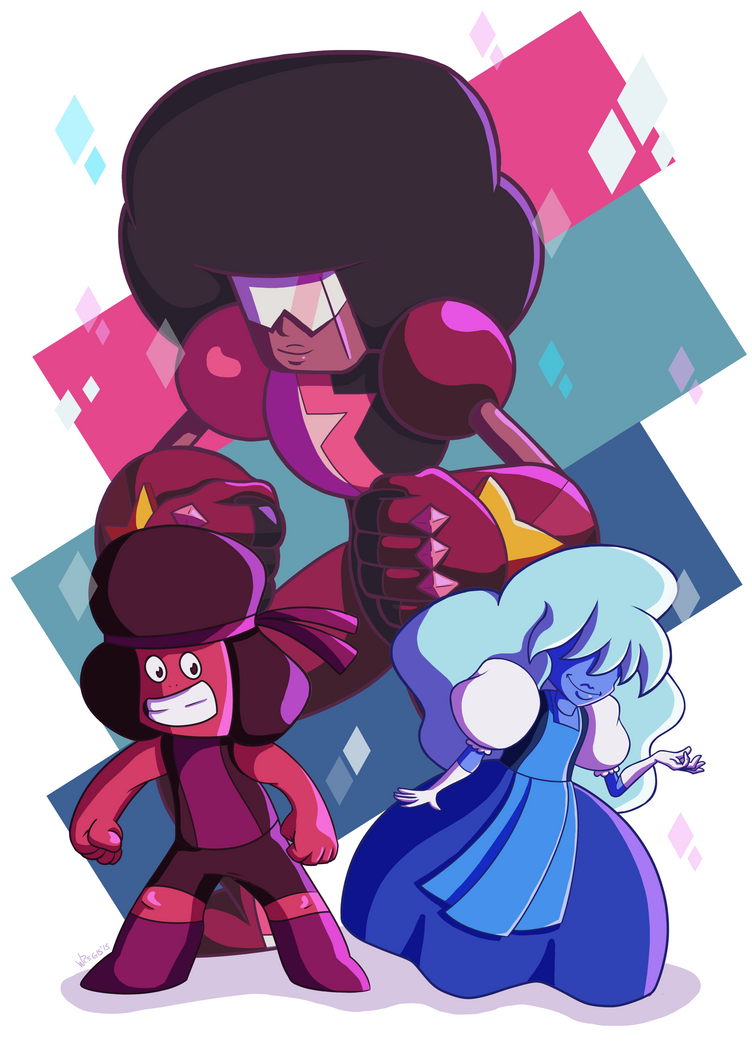 Garnet Love by wregis