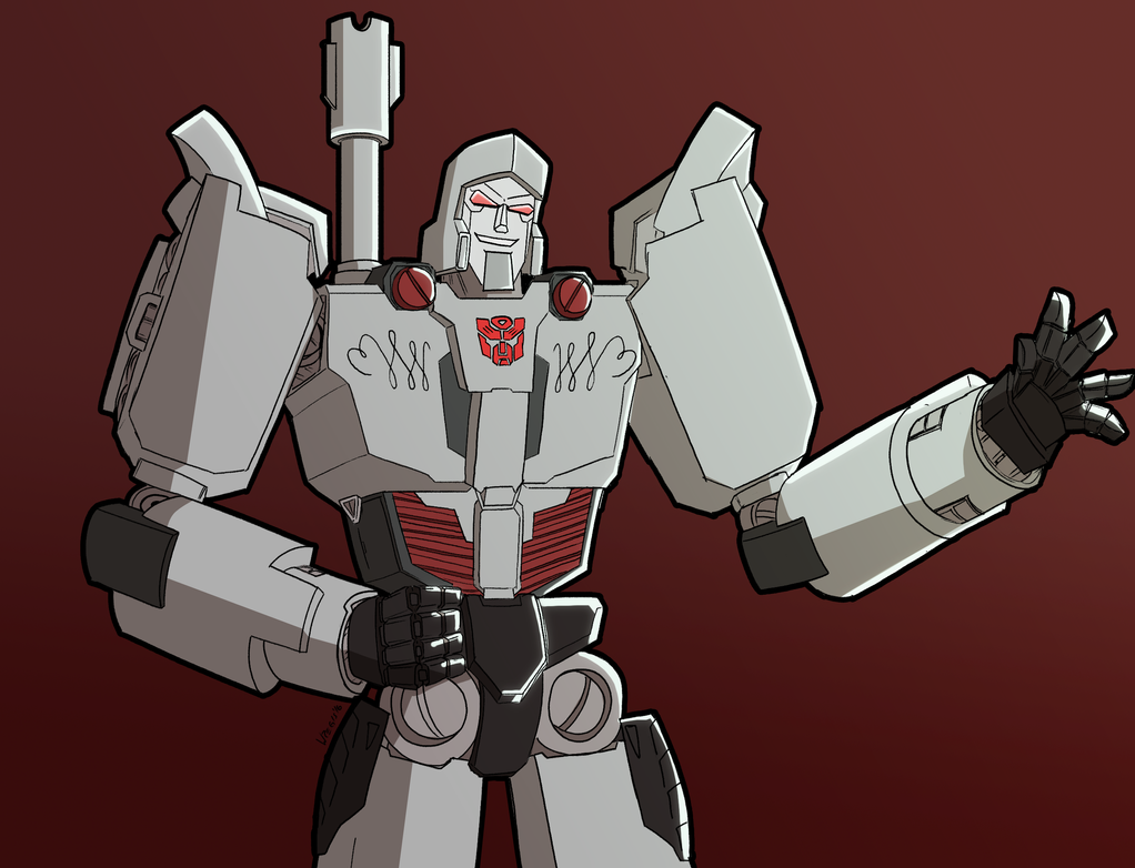 Autobot Megatron by wregis