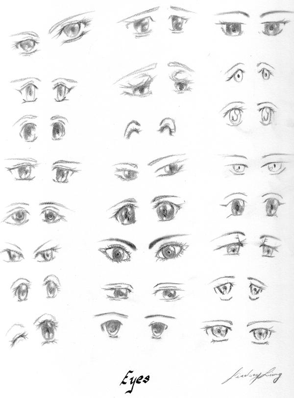 Gallery For gt Chibi Eyes Female