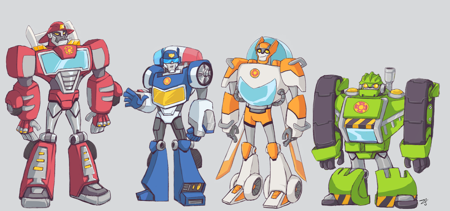 TFA - Rescue Bots by ZolataLita