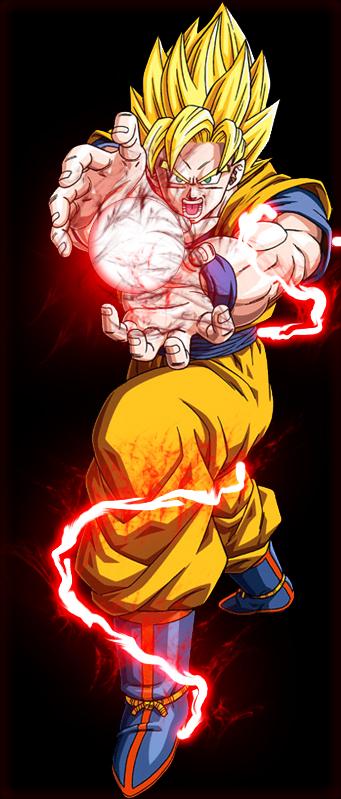Dragon Ball Z Wallpaper Dragonballz Ssj2 Goku Blasting By