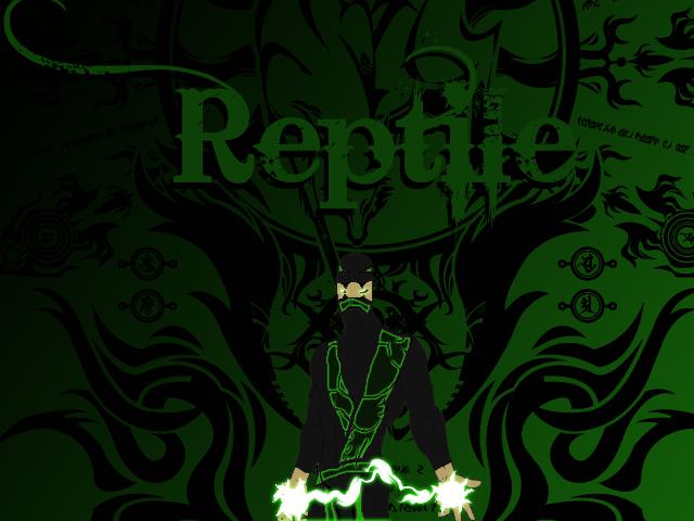 mortal kombat logo vector. mortal kombat 2011 reptile.