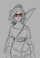 Hunt - Sketch by EmyBun