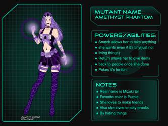 X-Girl Amethyst Phantom 2 by LunarDark28