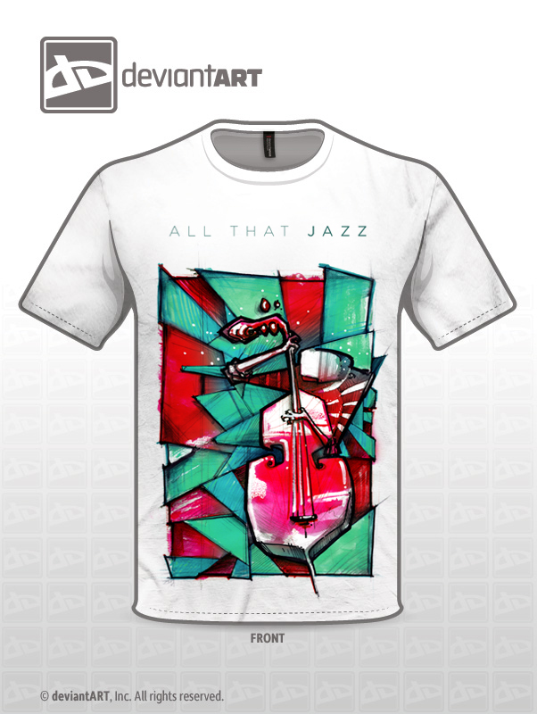 All That Jazz (shirt design) by minstrelDead
