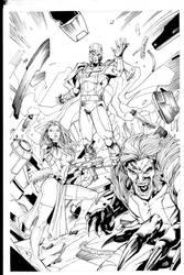 Evil Mutants INKS by Vandal1z
