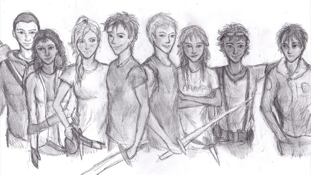 Heroes of Olympus by g...