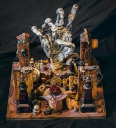 Alchemical glory hand