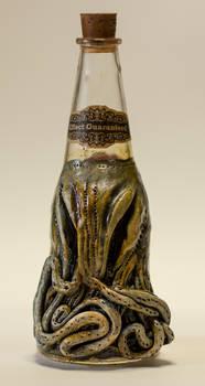 Lovecraftian Chtulhu Bottle