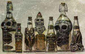 Creepy Bottles