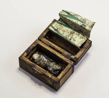 Little box with finger and map by FraterOrion