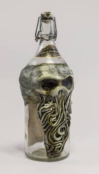 Lovecraftian Cthulhu Bottle