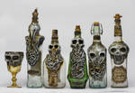 Creepy Bottles