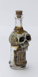 Creepy little Bottle by FraterOrion