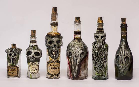 Creepy Bottles 4 Halloween