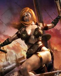 Warrior 02 by AshedRaZ3r