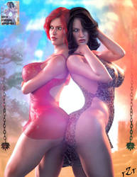 Choices 01: Triss v Yennefer by AshedRaZ3r