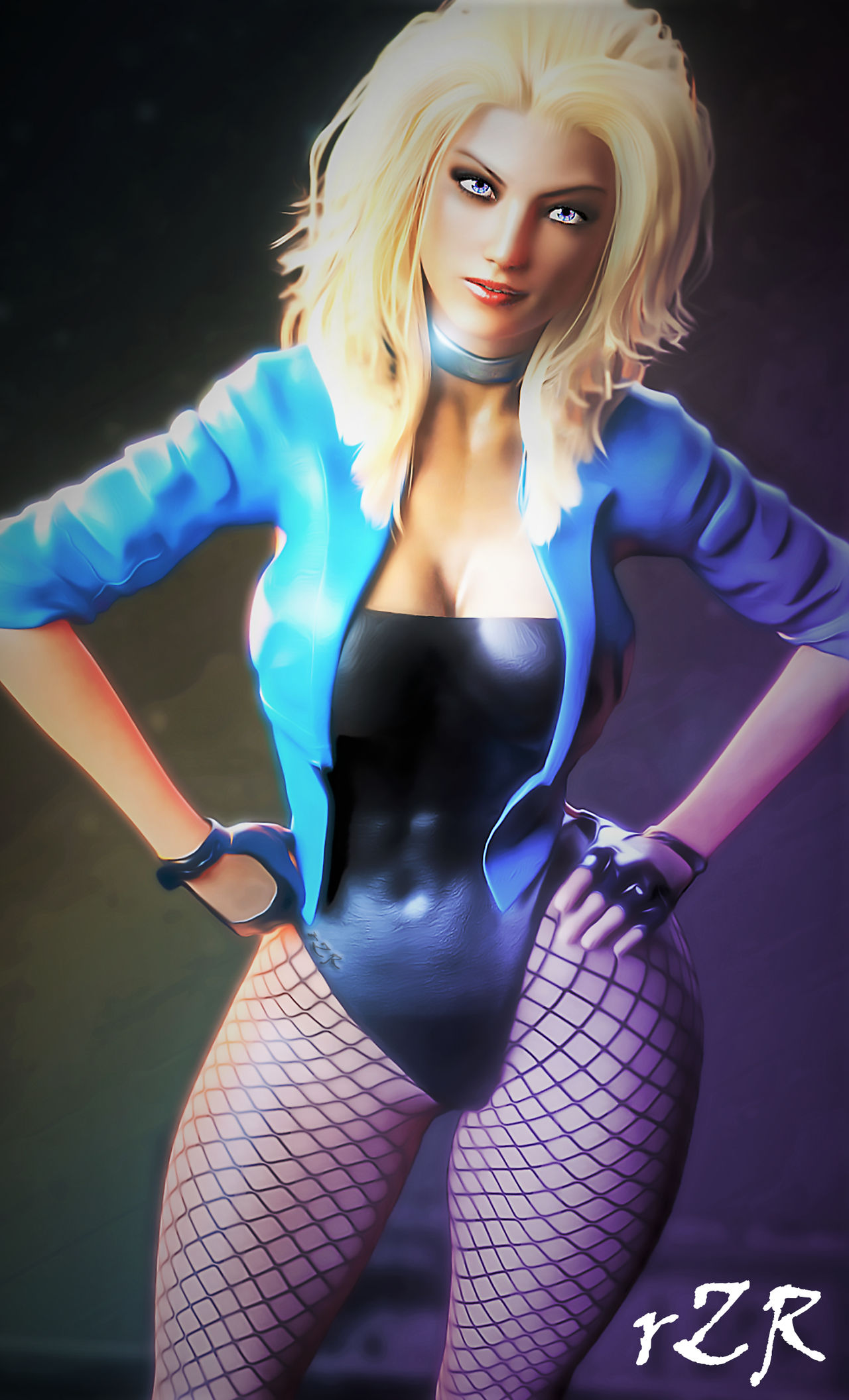 Black Canary Sonic (Injustice 2) by MsLiang | Black Canary ... |Injustice Black Canary Drawing