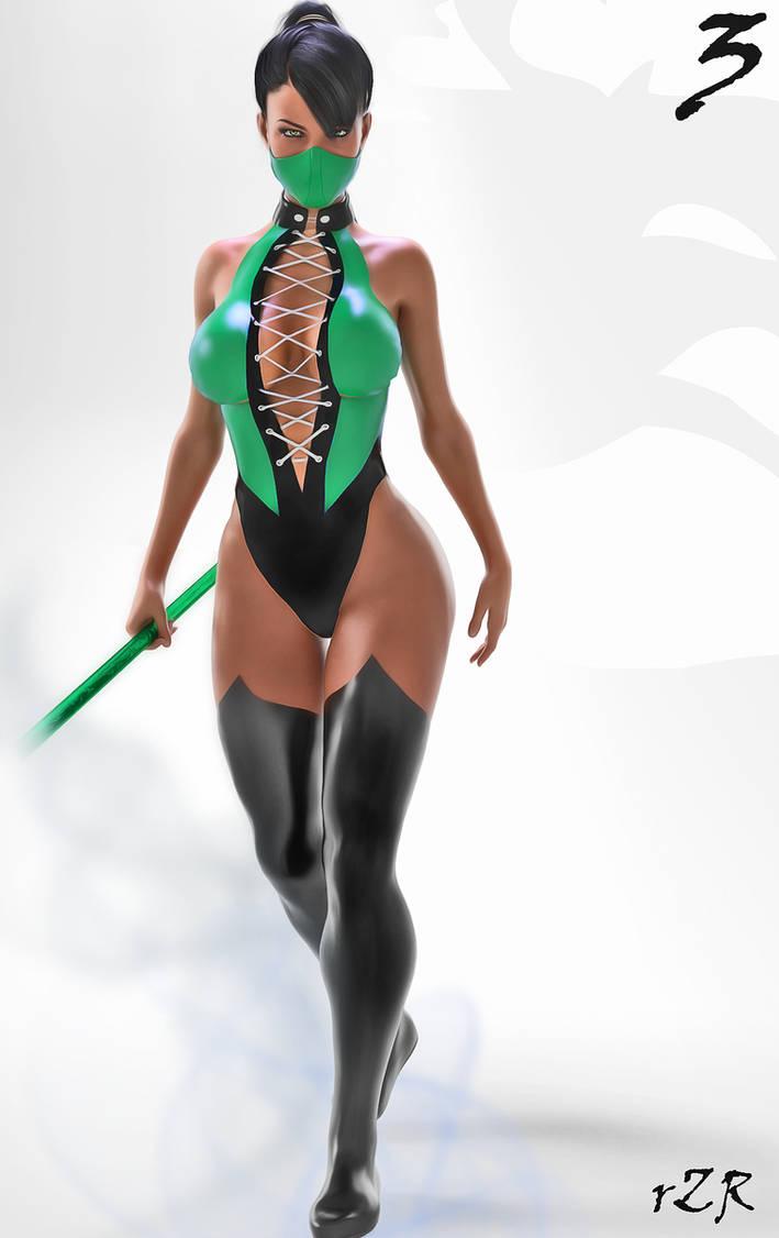Character Concept: Jade 01 [Classic]