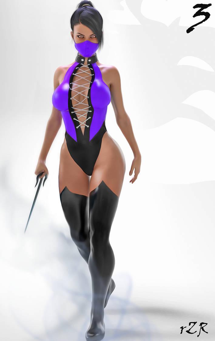 Character Concept: Mileena 01 [Classic]