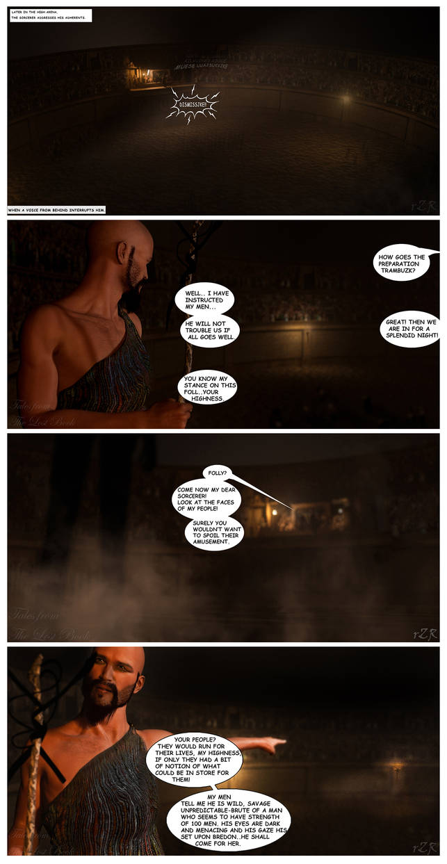 Tales from the Lost Book: Pages 01-04