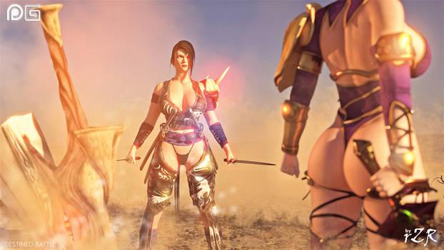 Destined Battle - Ivy x Shura 01