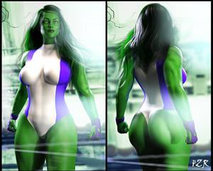 Character Art: SHE Hulk