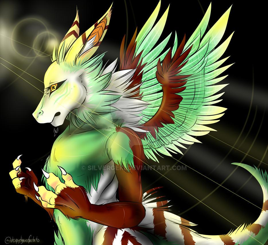 Angel Dragon: Dutch Angel Dragon Practice By Silvergeki On DeviantArt