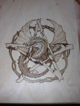 First attempt at pyrography