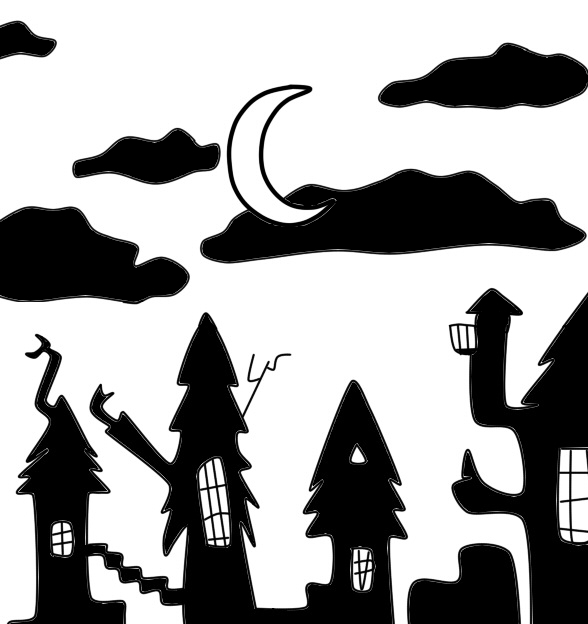 Nightmare Before Christmas Houses.Houses Of The Nightmare Before Christmas By Melfrost On