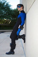 Nightwing: Contemplation by Bluebird0020