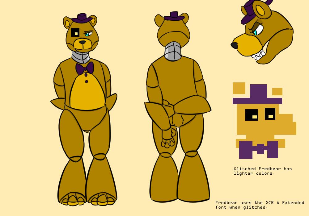 Character Sheet - Fredbear by RuneVix