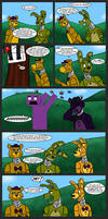 Spring-trapped #110 - Through a Mirror, Stupidly by RuneVix