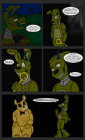 Spring-trapped #128 - In the Dark by RuneVix