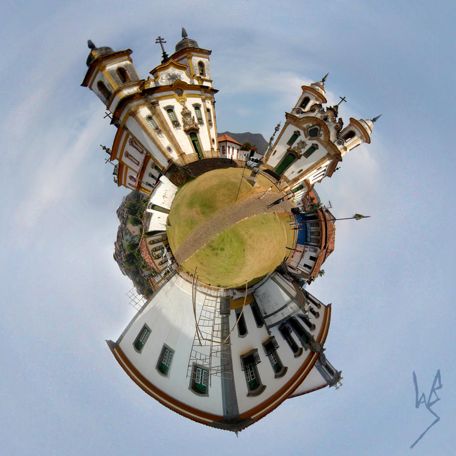 Little Planet - Minas Gerais by wanderabs