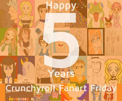 Fanart Friday Goodbye Collage