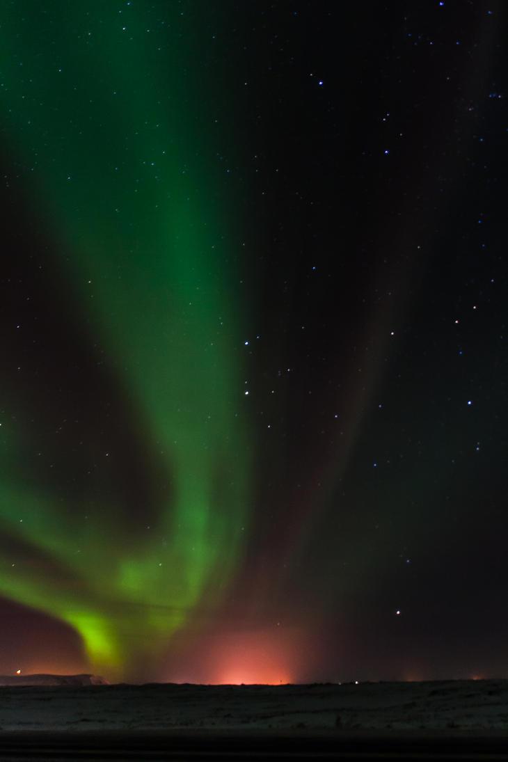 Aurora Borealis by BlueOrph