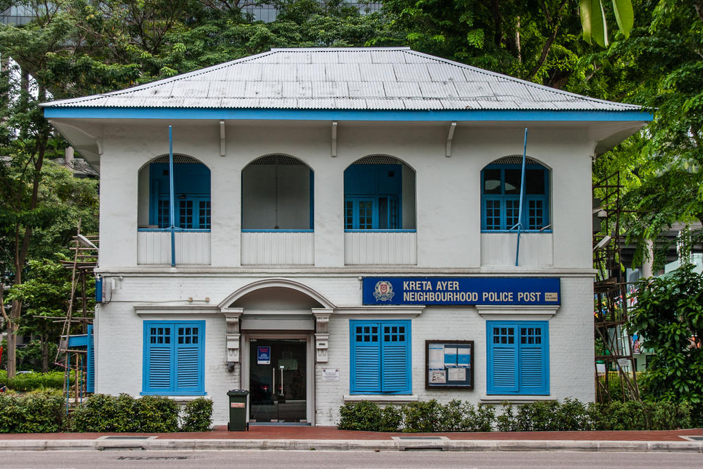 Singapore Police Station by BlueOrph