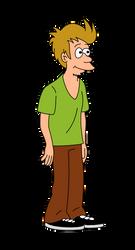 Futurama Scooby doo Fry