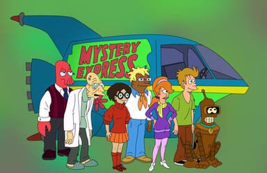 Futurama Scooby doo Mystery Express