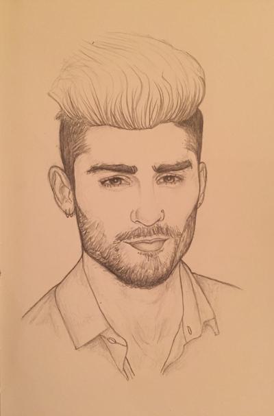 Zayn Malik Drawing Skills Zayn Malik. by ...