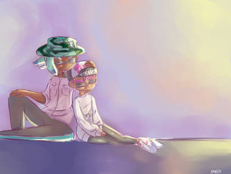 Just a peaceful moment by Cherry-Chan03