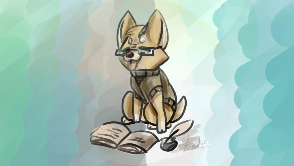 Nerdy Shiba - Doge by Sniperisawesome