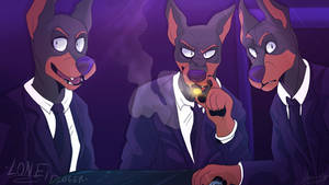 Lone Digger - Hounds - Redraw